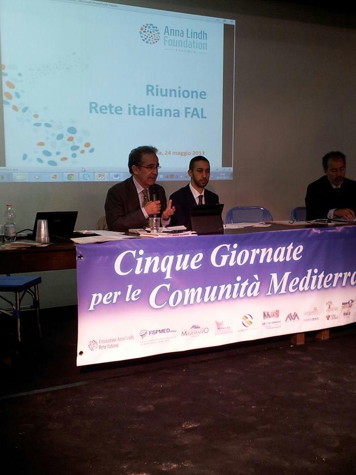 le cinque giornate per le comunità mediterranee: si discute con il Vice Presidente della Commissione Ambiente del Consiglio Regionale, Niero.